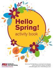 Hello Spring Activity Book Cover